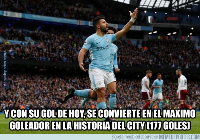 1004890 - Nuevo goleador histórico del City