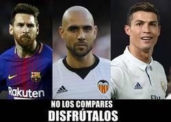 Enlace a Los mejores futbolistas del momento