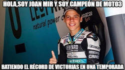 Enlace a Joan Mir, nuevo campeón de Moto3 al ganar en Australia