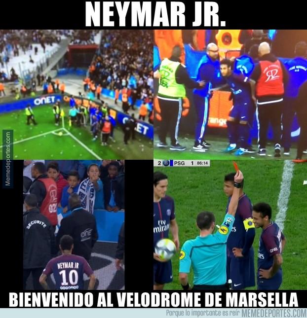 1005075 - Neymar y su visita al estadio más hostil de Francia