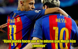 Enlace a La sorprendente declaración de Neymar sobre Leo Messi a Mbappé