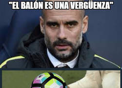 Enlace a Reacciones tras las quejas de Guardiola sobre el balón del partido