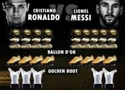 Enlace a Cristiano Ronaldo vs Lionel Messi, así está el mano a mano actualmente