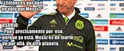 Enlace a Juan Carlos Osorio no votó a Messi para el TheBest y explica por qué