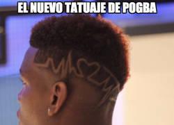Enlace a El nuevo tatuaje de Pogba
