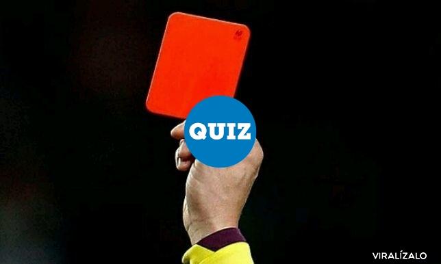 1005637 - TEST: ¿Cuánto sabes de las expulsiones en el fútbol?