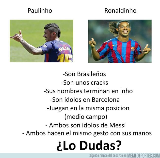 1006066 - Paulinho es el nuevo Ronaldinho, y si no lo crees, desmiente todas estas afirmaciones