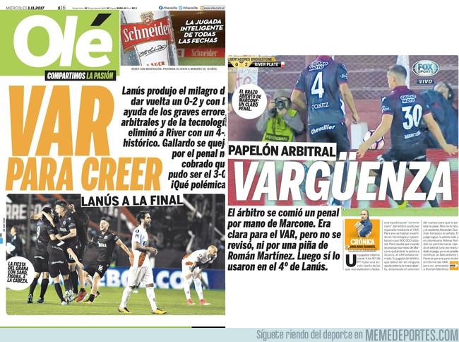 1006223 - En Argentina son bastante creativos para hacer títulos de portada