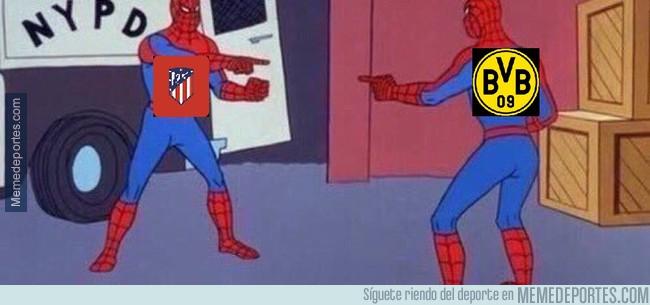 1006371 - El Atlético y el Borussia Dortmund haciendo el ridículo de la misma manera