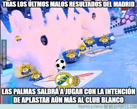 1006547 - Así saldrá a jugar Las Palmas contra el R.Madrid aprovechando la mala racha del rival...
