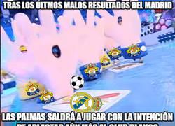Enlace a Así saldrá a jugar Las Palmas contra el R.Madrid aprovechando la mala racha del rival...