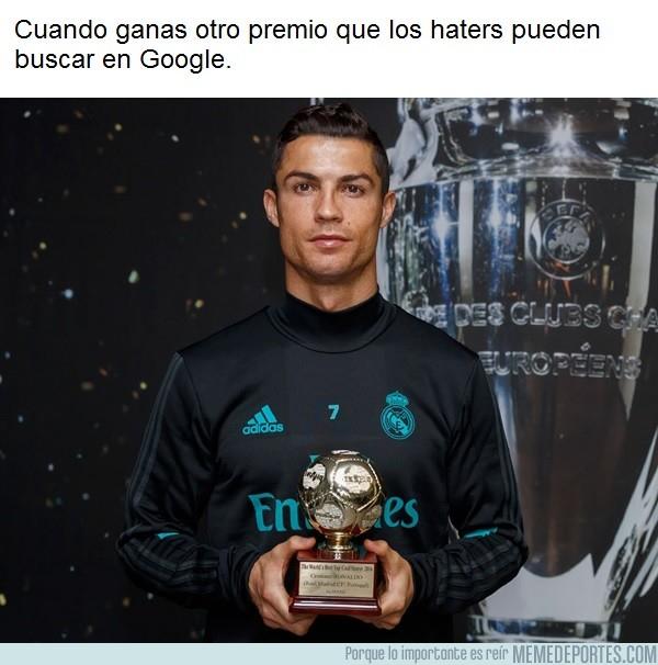 1006549 - Cristiano es elegido el mejor goleador del 2016