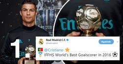 Enlace a 2 noticias del acierto goleador de Cristiano que se entienden mejor juntas