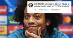 Enlace a La sutil callada de boca de Marcelo a un hater de Instagram
