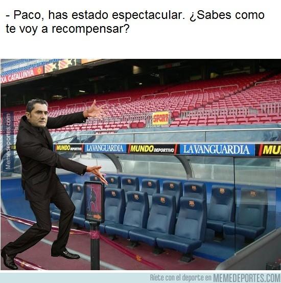 1006710 - Esto lo saben hasta en casa de Paco Alcácer