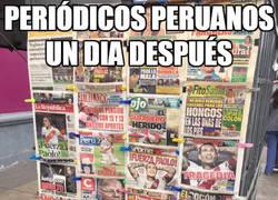 Enlace a Periódicos de Perú un día después de la noticia de Guerrero