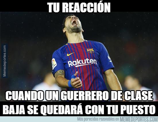 1006744 - Suárez está en problemas con Alcácer