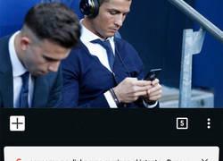 Enlace a Mientras tanto, Cristiano en el banquillo del Real Madrid...