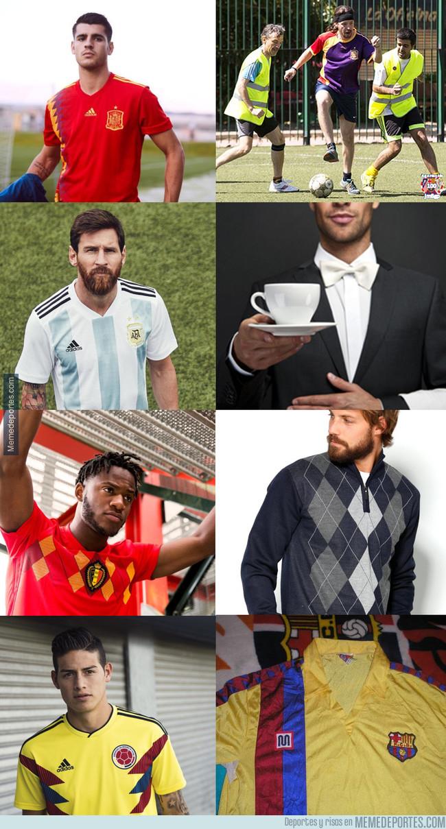 1006928 - Adidas lanza las camisetas para el Mundial de Rusia. Aquí, algunos de sus parecidos razonables