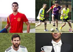 Enlace a Adidas lanza las camisetas para el Mundial de Rusia. Aquí, algunos de sus parecidos razonables