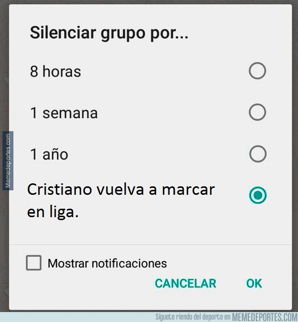 1007028 - Silenciar hasta...