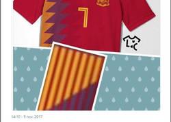 Enlace a ¿Nueva polémica con la camiseta de España?