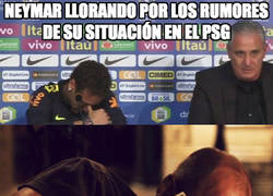 Enlace a Cuanto teatro de Neymar...