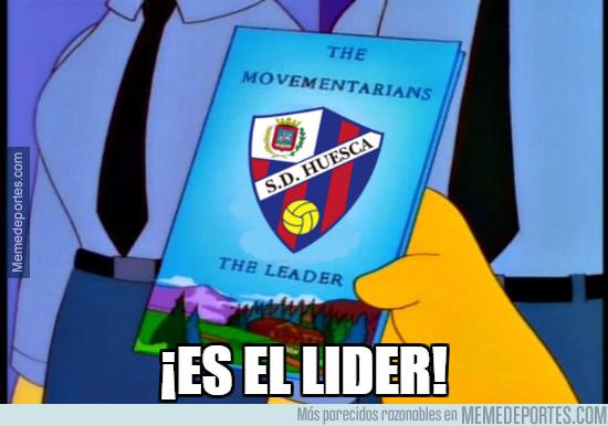 1007440 - La SD Huesca consigue el liderato en solitario en 2º División