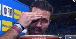 Enlace a Las lágrimas de un mito, Buffon pidiendo perdón por no ir al Mundial