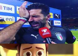 Enlace a Buffon se queda sin su último mundial