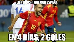 Enlace a Jordi Alba en plan killer