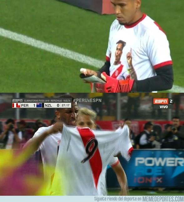 1007835 - Guerrero presente en la victoria de Perú