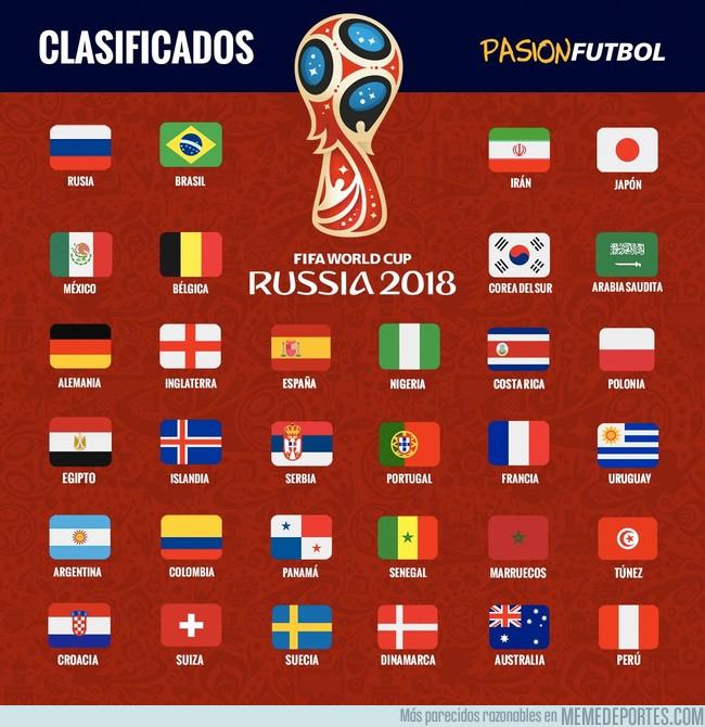 1007867 - Todo listo para el Mundial, ¿cuáles son tus favoritos? Vía PasiónFutbol