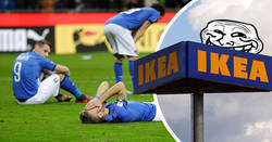 Enlace a Ikea 'trollea' a Italia tras la eliminatoria ante Suecia y ya se pueden despedir de vender en ese país