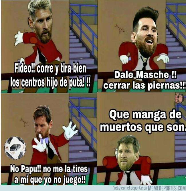 1007957 - La situación en la selección Argentina