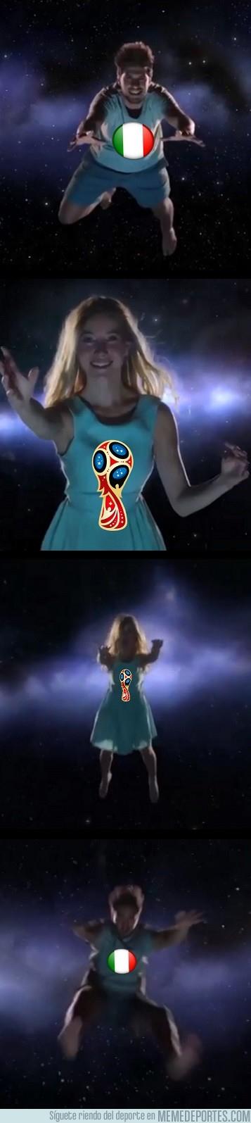 1007995 - Italia lo tuvo cerca para clasificarse en el Mundial, pero al final no pudo ser