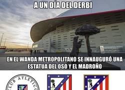 Enlace a La nueva escultura del Wanda metropolitano