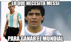 Enlace a Messi y el Mundial