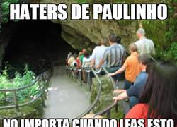 Enlace a Paulinho sigue a lo suyo