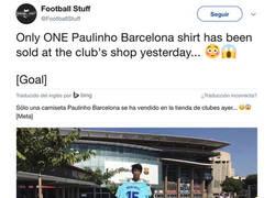 Enlace a El único que creyó en Paulinho, se merece un monumento