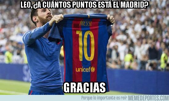 1008226 - Messi nos ilustra la diferencia de puntos en Liga