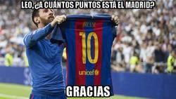 Enlace a Messi nos ilustra la diferencia de puntos en Liga