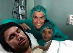 Enlace a En el Madrid no paran de visitar el hospital