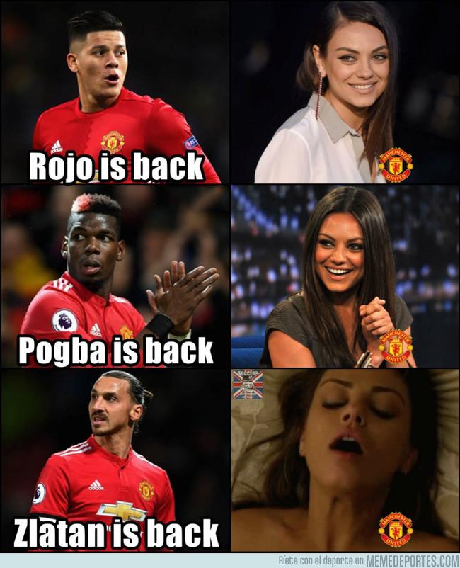 1008416 - Los fans del United tras la recuperación de sus jugadores