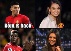 Enlace a Los fans del United tras la recuperación de sus jugadores