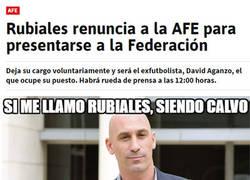 Enlace a Luis Rubiales, a por la presidencia de la RFEF