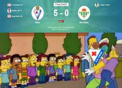 Enlace a El Eibar acabó con el Betis