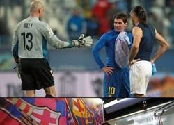 Enlace a Las reuniones post-partido de Messi con sus compatriotas