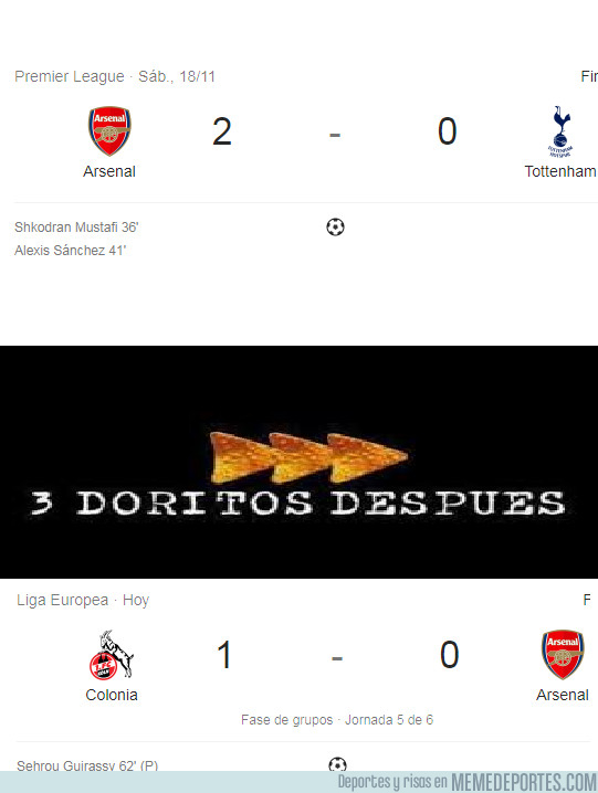 1008837 - El Arsenal de Wenger y su irregularidad
