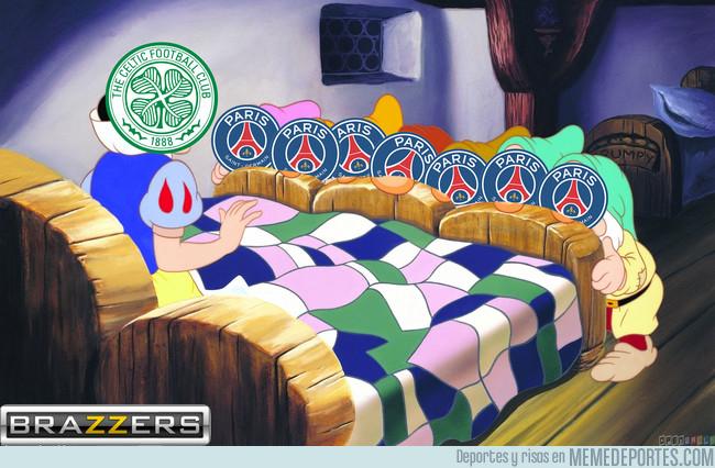 1008872 - Los 7 goles del PSG al Celtic vistos de otra forma